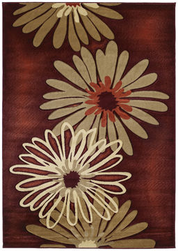 "United Weavers CONTOURS Brown Runner 2'7"" X 7'4"" Area Rug 510 20229 28C 806-106043"