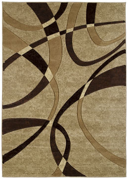 "United Weavers CONTOURS Brown 1'10"" X 2'8"" Area Rug 510 21351 24 806-106095"