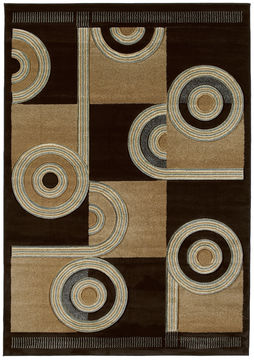 "United Weavers CONTOURS Brown 1'10"" X 2'8"" Area Rug 510 22451 24 806-106143"