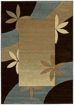 "United Weavers CONTOURS Brown 1'10"" X 2'8"" Area Rug 510 22666 24 806-106148"