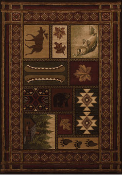 "United Weavers CONTOURS Brown 1'10"" X 2'8"" Area Rug 510 27559 24 806-106225"