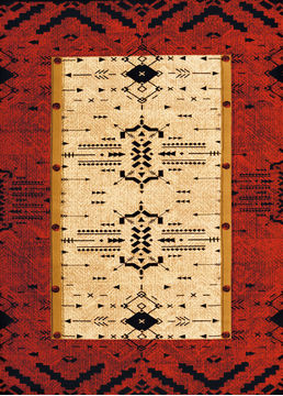 "United Weavers CONTOURS-DCBW Red 1'10"" X 3'0"" Area Rug 809014273727 806-106630"