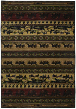 "United Weavers MARSHFIELD GENESIS Multicolor 1'10"" X 3'0"" Area Rug 533 10843 24 806-106855"