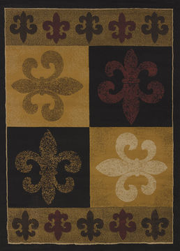 "United Weavers CHINA GARDEN Brown Runner 1'11"" X 7'2"" Area Rug 550 35845 28 806-106977"