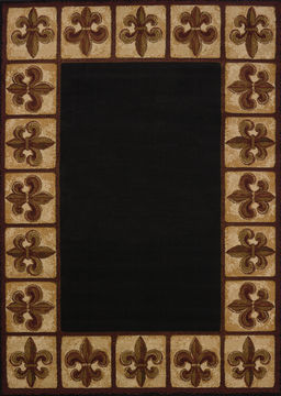 "United Weavers CHINA GARDEN Brown 1'10"" X 3'0"" Area Rug 809014234032 806-106996"