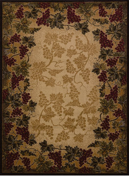 "United Weavers AFFINITY Multicolor Runner 1'11"" X 7'4"" Area Rug 809014274410 806-107179"