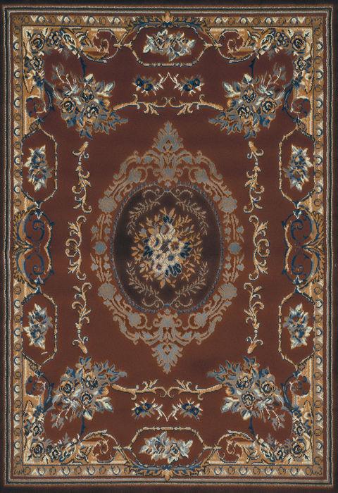 United Weavers Manhattan Brown Rectangle 8x10 Ft