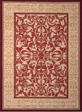 "United Weavers DALLAS Red Runner 2'3"" X 7'2"" Area Rug 809014239488 806-107803"