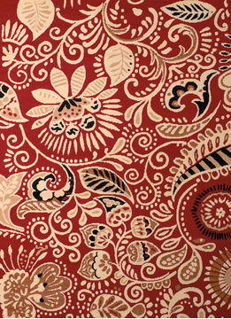 "United Weavers DALLAS Red Runner 2'3"" X 7'2"" Area Rug 809014240125 806-107863"