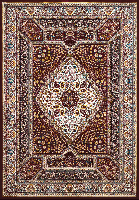 United Weavers Antiquities Brown Rectangle 3x4 Ft