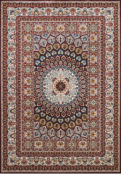 "United Weavers ANTIQUITIES Red Runner 2'3"" X 7'2"" Area Rug 809014265791 806-108212"