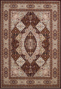 "United Weavers ANTIQUITIES Red 2'7"" X 3'11"" Area Rug 809014265845 806-108225"