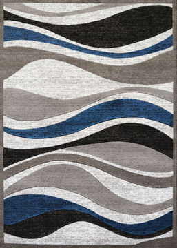 "United Weavers STUDIO Blue Runner 1'11"" X 7'2"" Area Rug 809014250292 806-108387"