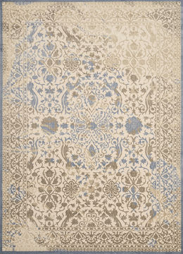 "United Weavers Dais Beige Runner 1'11"" X 7'2"" Area Rug 809014260062 806-108450"