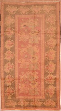 "Daghestan Red Hand Knotted 4'8"" X 9'2""  Area Rug 100-109058"