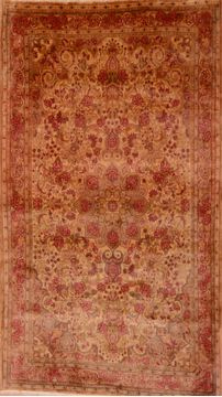 "Bidjar Red Hand Knotted 3'10"" X 6'7""  Area Rug 100-109091"