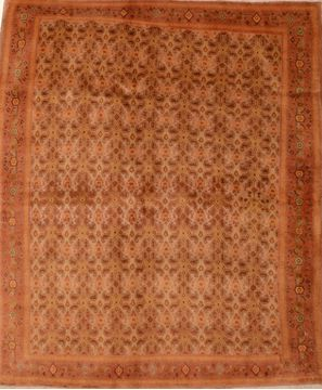 Persian Sino-Persian Beige Rectangle 3x5 ft Wool Carpet 109094