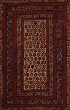 "Kilim Red Flat Woven 5'11"" X 10'0""  Area Rug 100-109343"