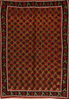 Kilim Red Flat Woven 61 X 89  Area Rug 100-109616 Thumb 0