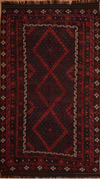"Kilim Red Flat Woven 8'6"" X 13'7""  Area Rug 100-109627"