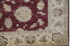 Chobi Red Hand Knotted 80 X 1011  Area Rug 700-109729 Thumb 1