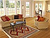 Kilim Red Hand Knotted 42 X 62  Area Rug 100-11039 Thumb 5