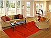 Gabbeh Red Hand Knotted 67 X 99  Area Rug 100-11056 Thumb 4