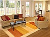 Gabbeh Beige Hand Knotted 66 X 910  Area Rug 100-11057 Thumb 4