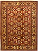 Kazak Multicolor Hand Knotted 69 X 96  Area Rug 100-11058 Thumb 0