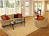Gabbeh Beige Hand Knotted 69 X 99  Area Rug 100-11060 Thumb 4