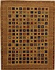 Gabbeh Multicolor Square Hand Knotted 67 X 84  Area Rug 100-11064 Thumb 0