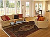 Bakhtiar Multicolor Hand Knotted 69 X 100  Area Rug 100-11067 Thumb 4
