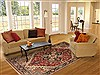 Heriz Red Hand Knotted 611 X 910  Area Rug 100-11077 Thumb 4