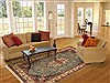 Yazd Blue Hand Knotted 67 X 103  Area Rug 100-11091 Thumb 4