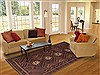 Shahre Babak Brown Hand Knotted 72 X 105  Area Rug 100-11097 Thumb 4