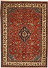 Sarouk Red Hand Knotted 66 X 96  Area Rug 100-11102 Thumb 0