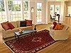 Hossein Abad Red Hand Knotted 610 X 911  Area Rug 100-11103 Thumb 4