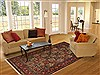 Bakhtiar Multicolor Hand Knotted 611 X 911  Area Rug 100-11112 Thumb 4