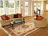 Tabriz Beige Hand Knotted 68 X 911  Area Rug 114-11131 Thumb 4