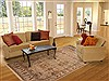 Jaipur Beige Hand Knotted 711 X 104  Area Rug 100-11140 Thumb 4