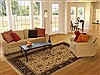 Jaipur Beige Hand Knotted 80 X 100  Area Rug 100-11144 Thumb 4