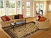 Jaipur Beige Hand Knotted 711 X 99  Area Rug 100-11148 Thumb 4