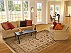 Jaipur Beige Hand Knotted 710 X 100  Area Rug 100-11149 Thumb 4