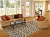 Nepal Beige Hand Knotted 61 X 91  Area Rug 100-11178 Thumb 4