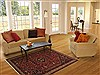 Qashqai Red Hand Knotted 53 X 83  Area Rug 100-11189 Thumb 4