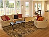 Modern Yellow Hand Knotted 60 X 90  Area Rug 100-11231 Thumb 4