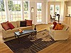 Modern Multicolor Hand Knotted 60 X 90  Area Rug 100-11232 Thumb 4