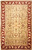 Pishavar Yellow Hand Knotted 1111 X 185  Area Rug 100-11247 Thumb 0