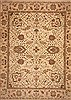 Jaipur Beige Hand Knotted 119 X 153  Area Rug 100-11276 Thumb 0