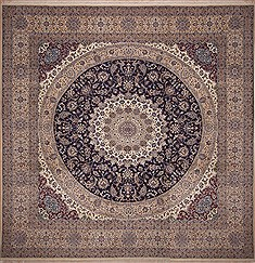 "Nain Beige Square Hand Knotted 15'11"" X 15'11""  Area Rug 100-11280"